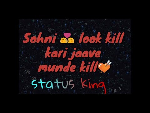 Kill song status WhatsApp ( kill Garry...