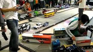 Video Atomic RC Carpet Track - Tamiya Tractor Trailers & Custom buses 1 download MP3, 3GP, MP4, WEBM, AVI, FLV Oktober 2018