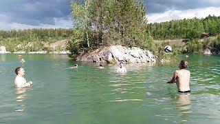 Абрашевское (Мраморное) озеро. Новосибирская область. Ордынский район