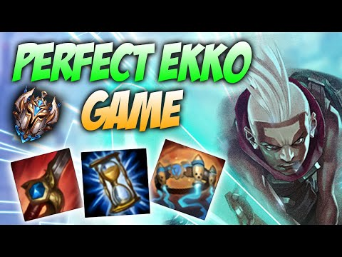 MIKA EUW / PERFECT HIGH ELO EKKO JUNGLE GAME / League of Legends