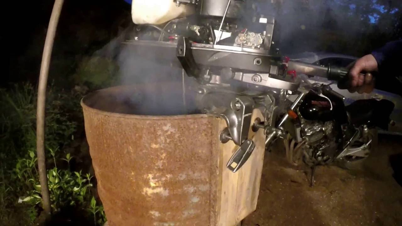 Полная разборка лодочного мотора Tohatsu 5 л.с 2т 2часть