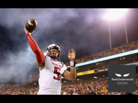 Texas Tech QB Patrick Mahomes is the Derek Carr of 2017 NFL Draft prospects