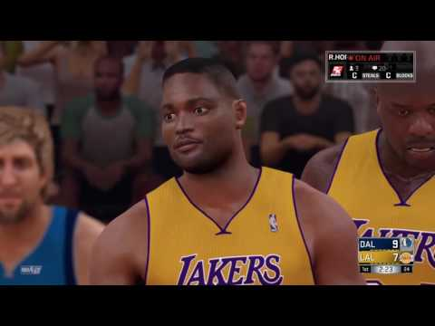 HOW GOOD IS THE 2000-2001 LAKERS IN NBA 2K17?!