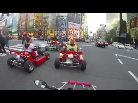 Review MariCar Akihabara Japan - 4K Mario Kart Go Karting in