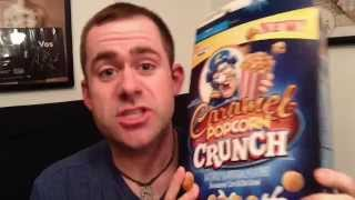 Cap'n Crunch Caramel Popcorn Crunch - One Take Review