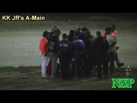 July 13, 2017 Clay Cup Nationals Baker Fagerlie Kasey Kahne Jr Mini Sprint Flip Deming Speedway