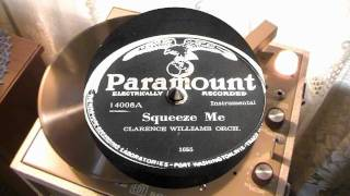 Squeeze Me - Clarence Williams (Paramount)