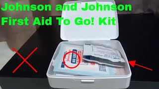 ✅ How To Use Johnson and Johnson First Aid To Go! Kit Review