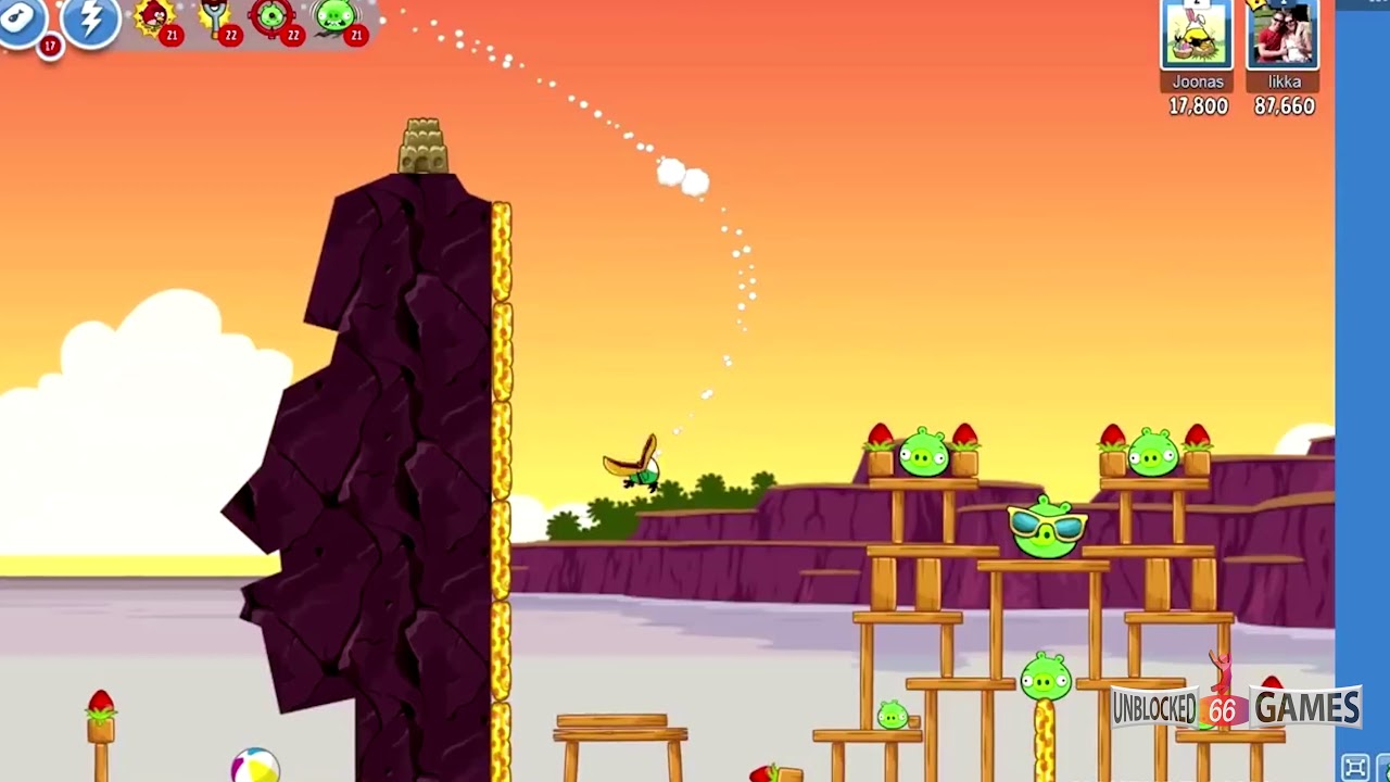 Angry Birds Unblocked Games - Unblocked Games 66