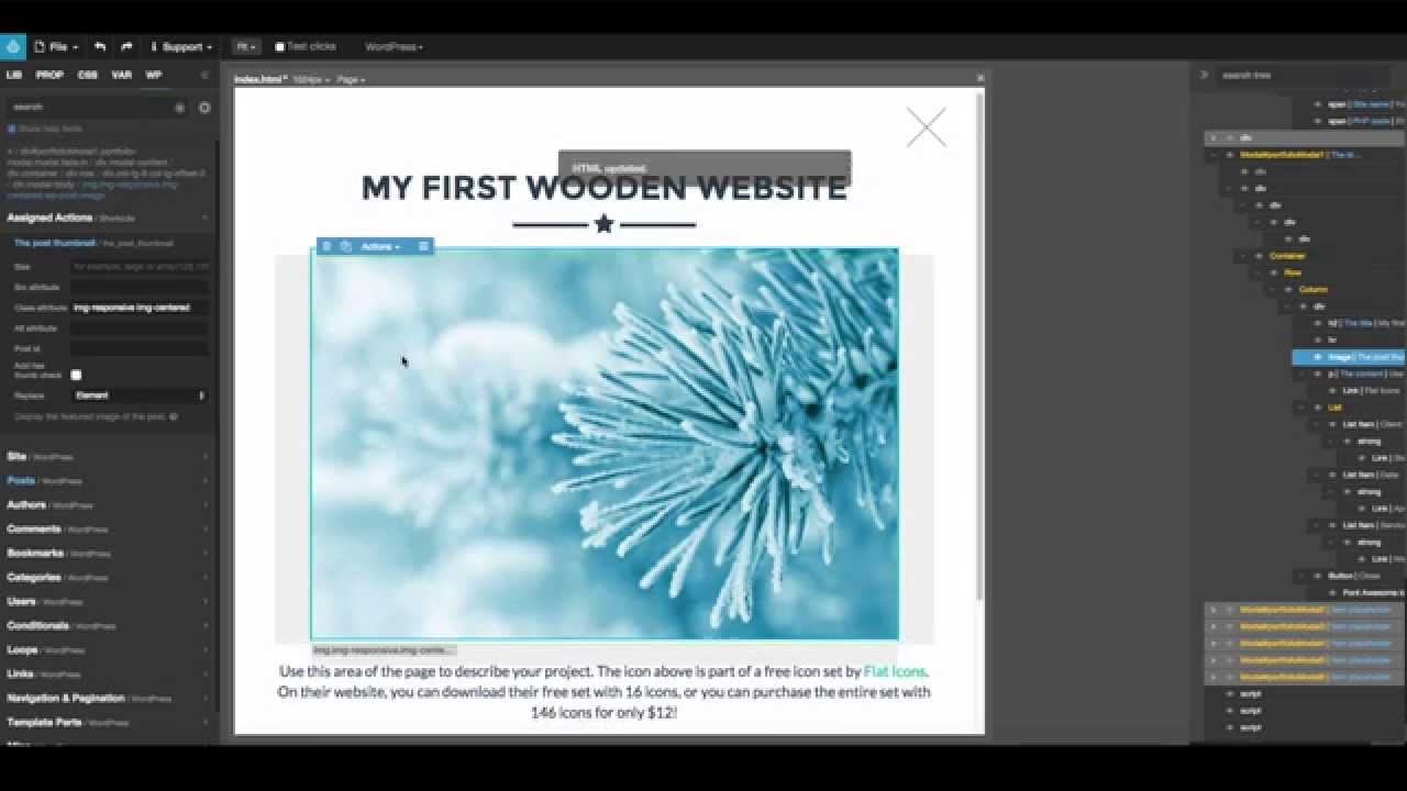 Pinegrow Web Editor With Wordpress Theme Builder Introduction