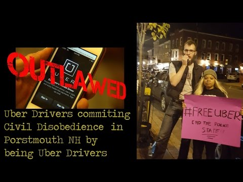 Free Uber Activism in Portsmouth NH by Christopher