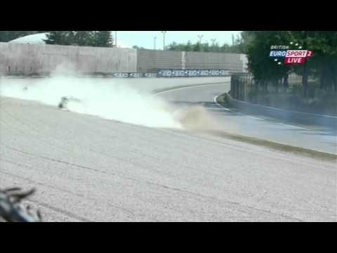2011 STK1000 Monza - Oil Spill
