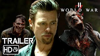 WORLD WAR Z 2 TRAILER [HD] Brad Pitt Horror Movie [Fan Made]