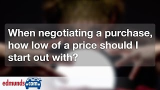 How to Set a Price When Negotiating for a Car | Car Buying
