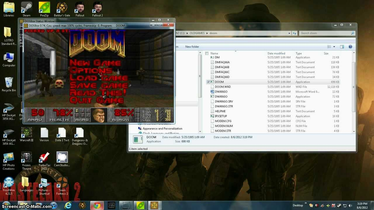 Play abandonware games easy (step by step)