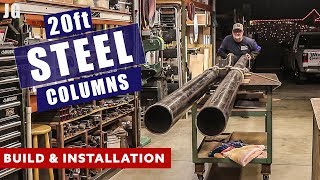 20ft Steel Building Supports | JIMBO
