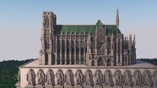 Download lagu Reims Cathedral in Minecraft