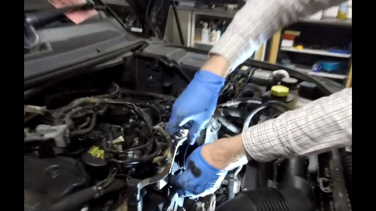 land rover discovery diesel sdv6 3 0l cambelt timing belt change part 1 Timing Belt Replacement