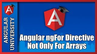 angular 2 final ngfor not only for arrays