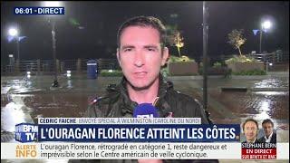 Rétrogradé en catégorie 1, l'ouragan Florence reste dangereux et inattendu
