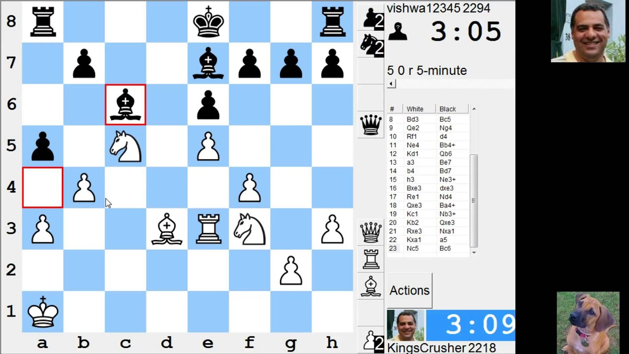 Play Blitz Chess Online