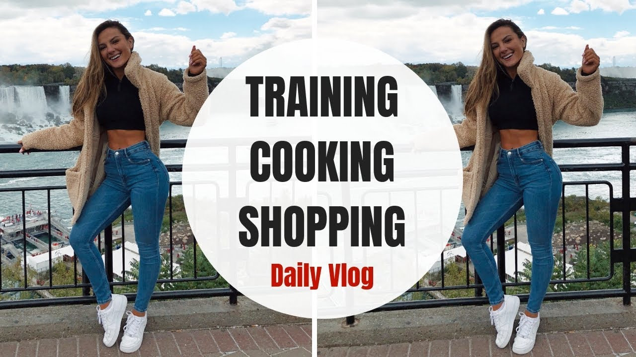 TRAINING, COOKING AND SHOPPING, A Day In My Life