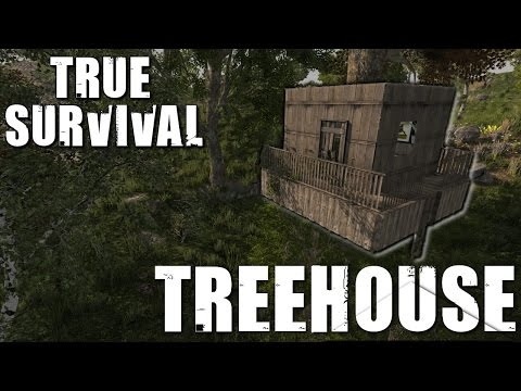 7 Days to Die Modded - True Survival - Treehouse!