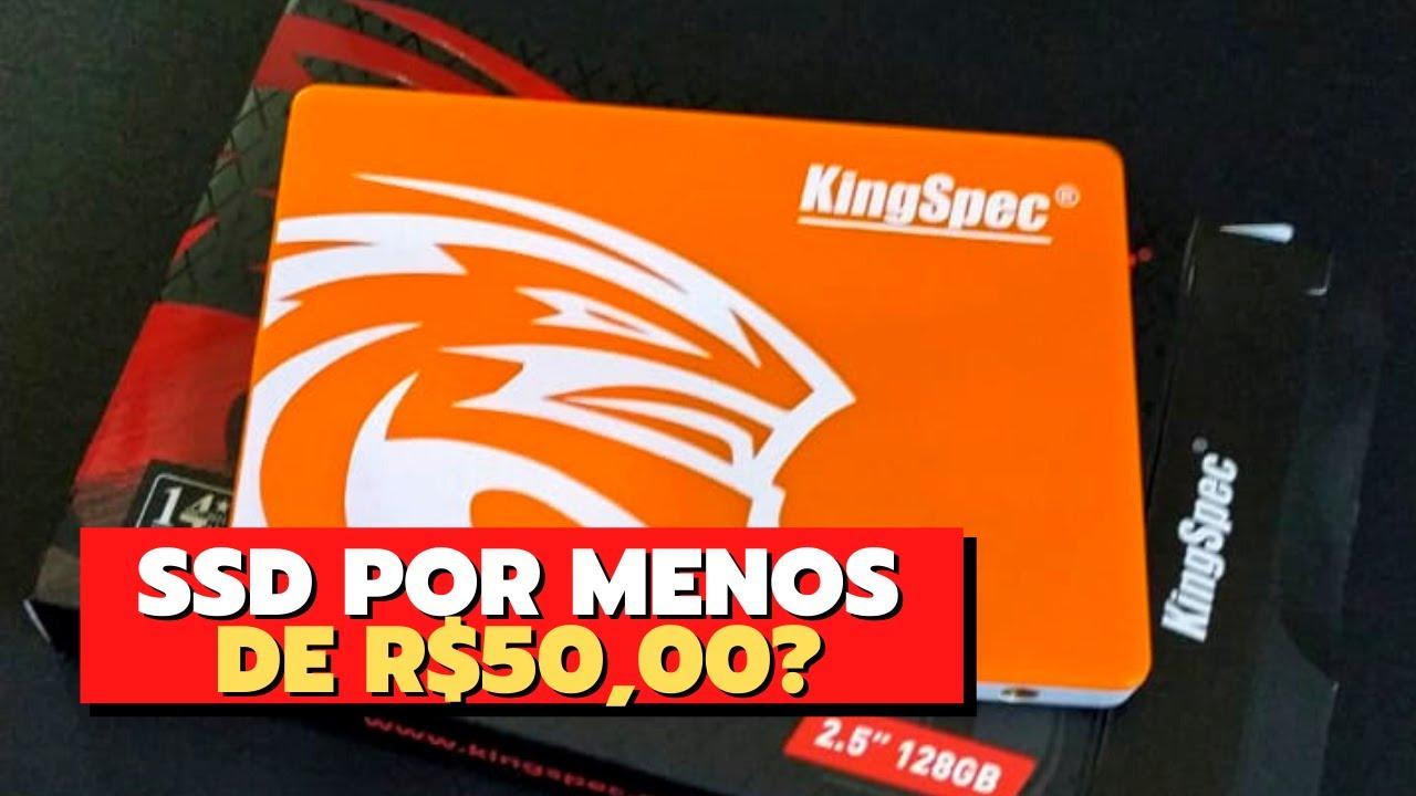 SSD BARATO DO ALIEXPRESS - UNBOXING + INSTALAÇÃO!!