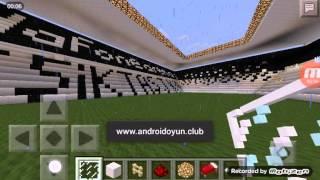 Minecraft pocket edition Vodafone Arena inşaat