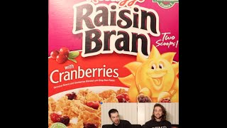 Kellogg's Raisin Bran With Cranberries Cereal - The Two Minute Reviews - Ep. 437 #tmr