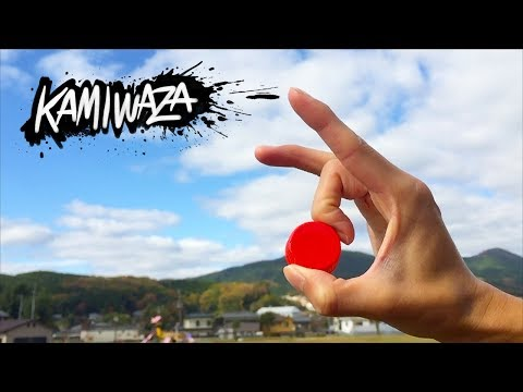 キャップ投げ神業集 | KAMIWAZA  (Bottle Cap Flick Trick Shots)