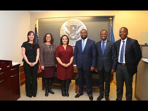 Hassan Joho: US Department of Homeland Security Image Slide Release