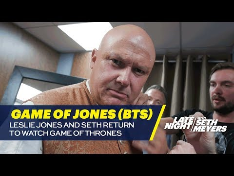 Game of Jones: Leslie Jones and Seth Return to Watch Game of Thrones Behind the s