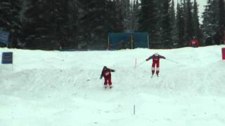 Simon Lemieux vs Troy Tully - 2013 FIS Nor-AM - Apex - Duals - Mens Top 16 Dual Finals