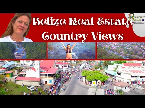 Belize Real Estate Country Views