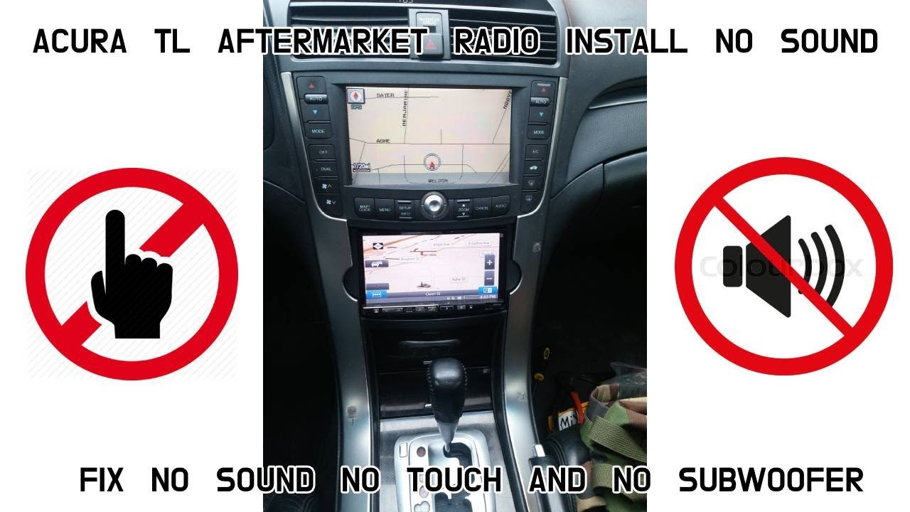 2004 05 06 Acura TL Aftermarket Stereo Radio Common Problems
