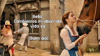 Bella - La Bella y la Bestia (Letra/Lyrics) 2017