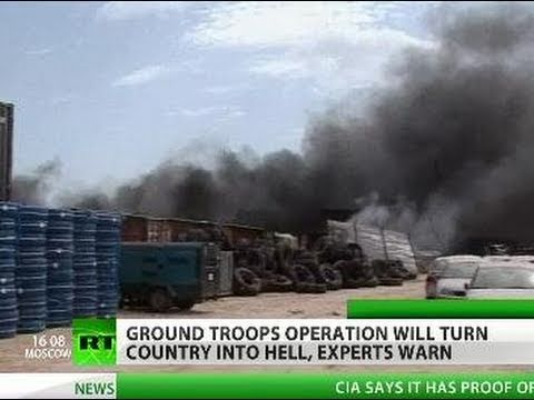 Ground attack looms in Libya - next step on NATO war list?