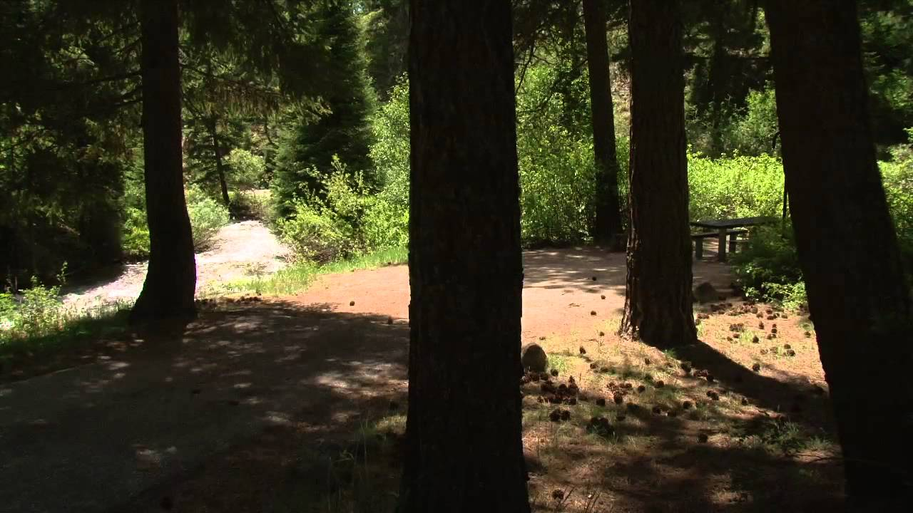 Ten Mile Campground in Idaho