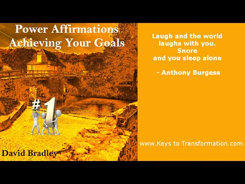 Power Affirmations: Achieving your goals
