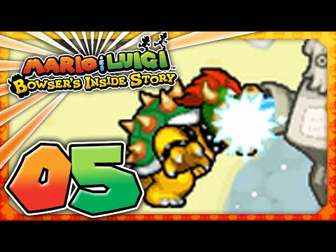 Mario and Luigi: Bowser's Inside Story - Part 5: IF YOU CAN'T BEAT EM EAT EM!
