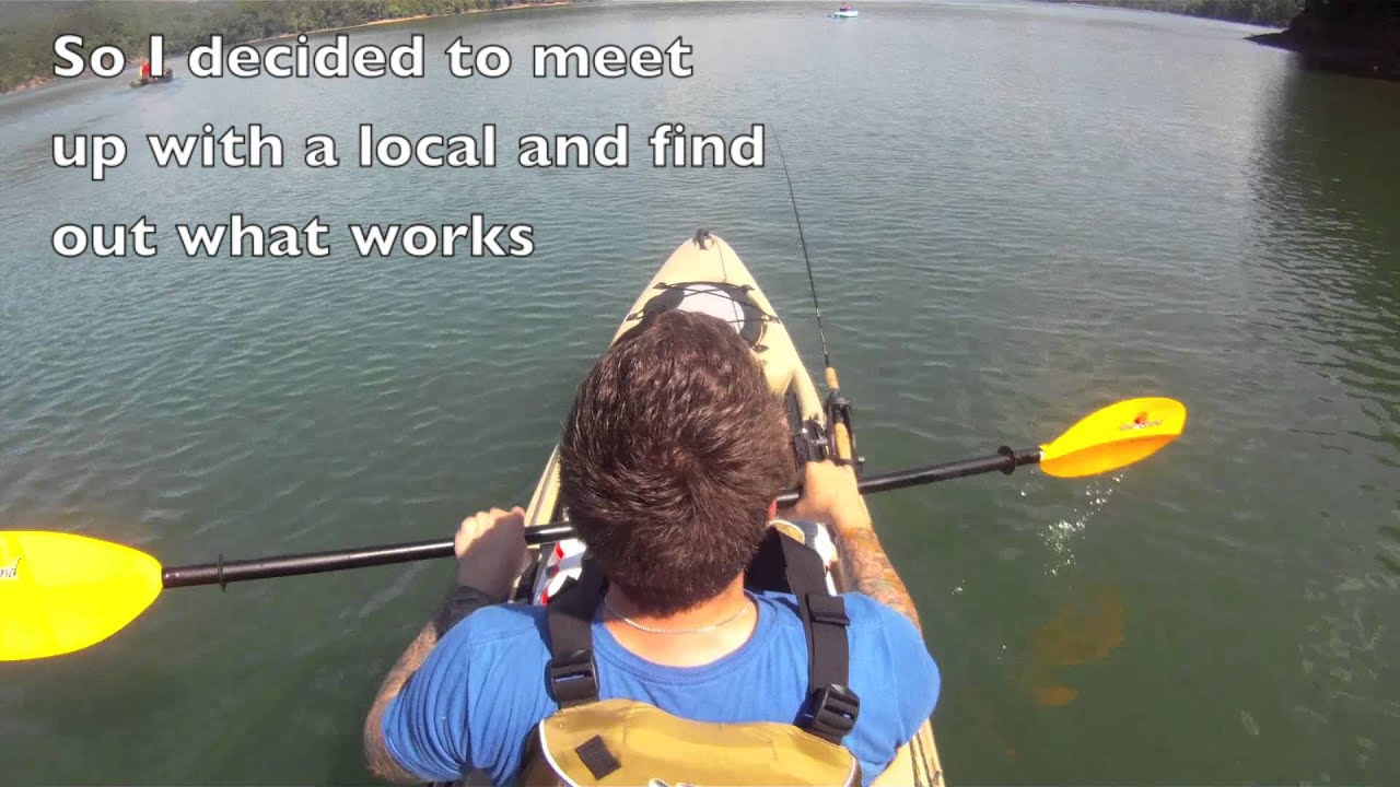 Kayak fishing carvins cove youtube for Carvins cove fishing