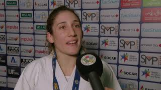 Maria CENTRACCHIO (ITA) Gold Tel Aviv Judo GP 19