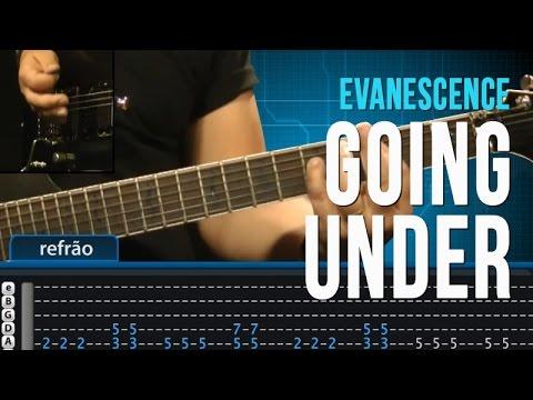 Evanescence - Going Under - Aula de Guitarra - TV Cifras