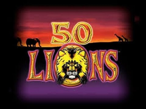 50 Lions Slot * Live Play * DIAMONDS * Big Win !!!