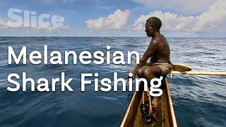 Bare-handed shark fishing | SLICE