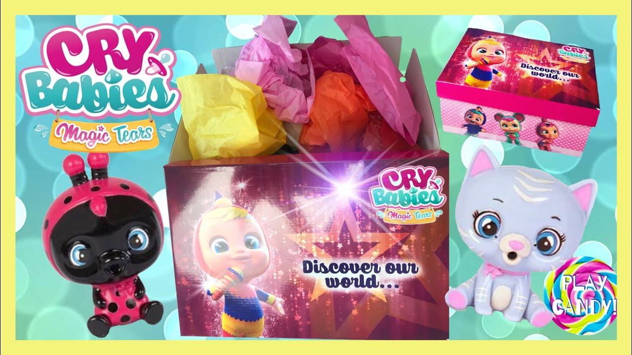 Exclusive Cry Babies Magic Tears Box - brand new Cry Babies Pets and exclusive Cry Babies #crybabies