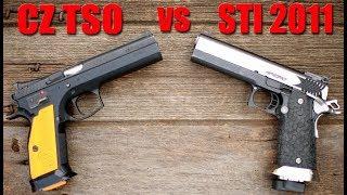 STI 2011 vs CZ Tactical Sport Orange: The Best Competition Pistol?