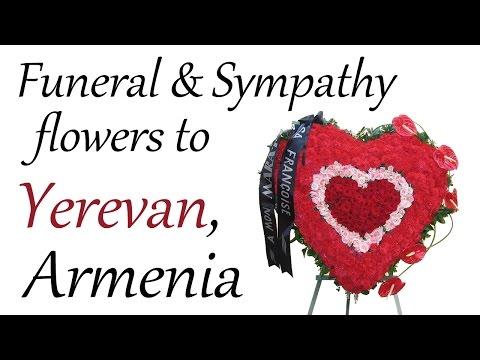 Funeral flowers to Armenia AnemonSalon.com