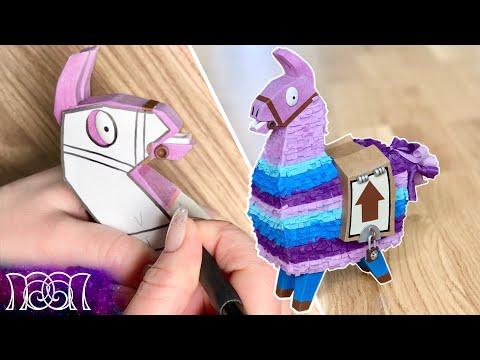 Fortnite Loot Llama - Paper DIY (Remake)